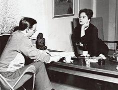 Marja-Liisa Vartio ja Paavo Haavikko
