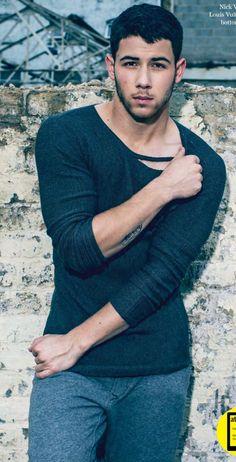Nick Jonas for ATTITUDE Magazine | December 2014
