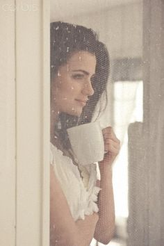 A cup of java, the morning sunlight, a warm summer breeze all amongst chirping birds, the sound of the leaves blowing in the wind, the smell of fresh cut grass & the sweet scent of flowers floating in the air. All after a restfull night's sleep. Close your eyes, breath it in & feel the warmth. Serenity now.