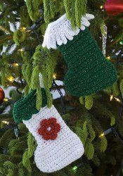If you're looking for a unique crochet Christmas stocking pattern, you should check out the Little Stocking Ornament. It's a cute way to decorate your tree, plus it's budget friendly...whether you're using it as a gift or for your own decorations.