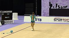 Katsiaryna Halkina, Ball, World Championships Izmir 2014