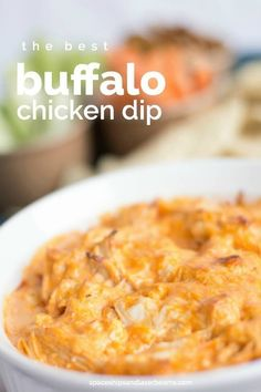 Buffalo Chicken Dip Recipe, Great Superbowl Party Food, Pin Now!