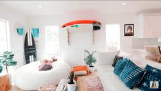 My room will never , but this is why it's a dream room Beachy Room, Surf Room, Cute Room Decor, Girl Decor, Decoration Inspiration, Decor Ideas, Gift Ideas, Piece A Vivre, Aesthetic Bedroom