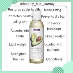 Avocado oil uses for the hair hair care beauty tips Natural Hair Inspiration, Natural Hair Tips, Natural Hair Journey, Natural Hair Styles, Natural Beauty, Natural Curls, Black Hair Care, Hair Remedies, Natural Remedies