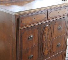 Easy DIY Home Decor Crafts: Layering Paint on a Dresser