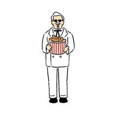 #colonelsanders #kfc #kentuckyfriedchicken