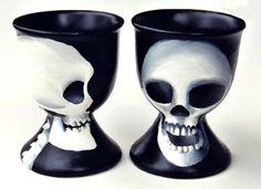 $55 Egg-cups 'Skulls'