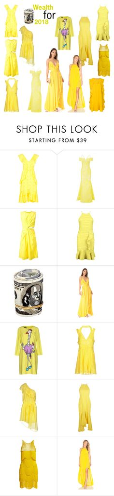 """Make a wish for 2018: Wealth"" by naibitencourt on Polyvore featuring Mode, Alice McCall, Roland Mouret, Jil Sander, Boohoo, Rachel Pally, Boutique Moschino, Mangano, Christian Pellizzari und Naeem Khan"