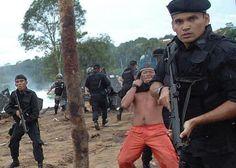 "La ""evacuación"" de la tribu kayapó"