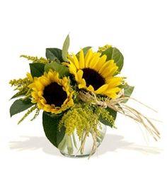 sunflower arrangement.
