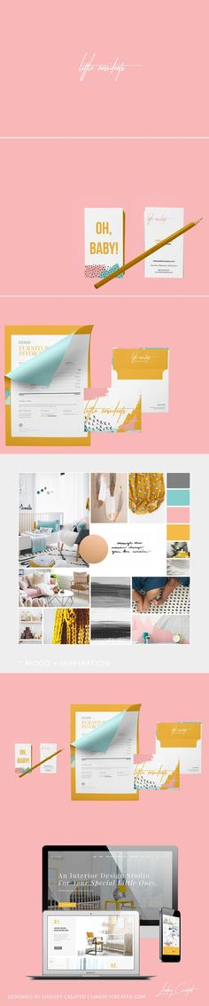 Little Residents Nursery Interior Design Branding by Lindsey Created | Fivestar Branding Agency – Design and Branding Agency & Curated Inspiration Gallery #design #designideas #designinspiration #branding #identity
