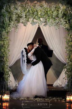 Four thousand Candles, mass arrangements, white roses, hydrangeas, orchids big floral arch. White Roses Wedding, Floral Arch, Event Company, Orchids, Wedding Planner, Floral Design, Wedding Photography, Candles, Hydrangeas