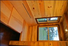 Rocky Mountain Tiny Houses - 30' house - tiny house couch