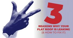 """As a conscientious commercial property owner, the thought keeps you up at night: """"Why is my flat roof leaking? Types Of Roofing Materials, Radiant Energy, Commercial Roofing, Roofing Services, Thing 1, Roof Deck, Flat Roof, Environmental Issues, Fort Lauderdale"""