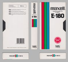 This appears to be an old example of a Maxell, proudly Made in Japan with the red-green-blue stripe design (see Maxell EX for another example). This appears to be the bottom end cassette, with G st… Retro Design, Graphic Design, Vhs Cassette, Skate Art, Made In Japan, Inspirational Artwork, Type Setting, Vaporwave, Stripes Design