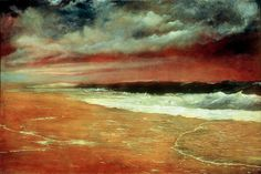 Joaquín_Clausell_-_Late_Afternoon_by_the_Sea_(The_Red_Wave)
