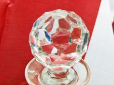 Perfect vintage British lead crystal decanter by RAVERETRO on Etsy, £48.00