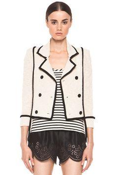 Skaist Taylor Boucle Jacket as seen on Kourtney Kardashian