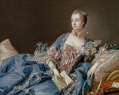 François Boucher - Madam de Pompadour