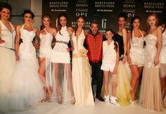 Backstage de Jordi Dalmau en Barcelona Bridal Week 2014 #Moda nupcial #Vestidos de novia #Novia #Bride #Bridal #WeddingDresses www.barcelonabrid...