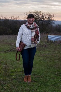 A blog about fashion and lifestyle aimed at ladies over 50. Fifties Fashion, 50 Fashion, Fashion Ideas, Style Challenge, Fashion Challenge, Demin Jacket, Checked Scarf, Jd Williams, Camel Coat