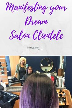 Building a good clientele in a salon business can seem like a daunting task. Trying to target only salon guests that make you feel good can feel impossible. Lets talk about it... #inmysalon #salonbusiness #salonclients