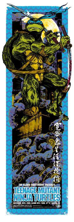 Rhys Cooper's Teenage Mutant Ninja Turtles Poster