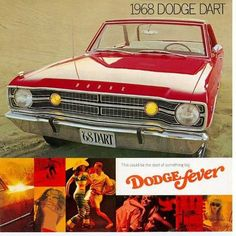 1968 Dodge Dart. Ok kiddies this is the REAL Dart.