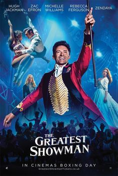 "$11.38 - Hugh Jackman Film The Greatest Showman Movie Poster Size 18X12 36X24 40X27"" #ebay #Collectibles"