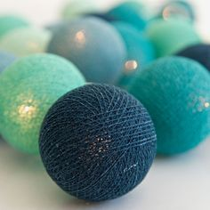 Ljusslinga Cool Mint, 20 bollar (Bestkids.se)