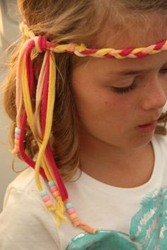 Hippie headband tutorial from This Mama Makes stuff    thismamamakesstuf...