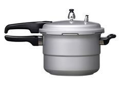 I remember my grandma and mom using this pressure cooker.  I can here the hissing sound now...