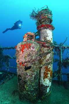 Wreck dives are always fun to explore.