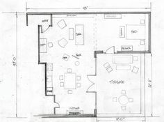 Neal's Apartment Blueprint