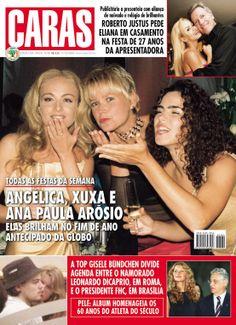 Revista Caras - matéria pequena acima - 01/Dezembro/2000