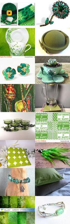 St. Patrick's Day! by livingavntglife on Etsy--Pinned+with+TreasuryPin.com