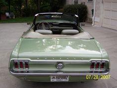 1968 Ford Mustang Base Convertible