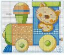 Baby Embroidery, Creative Embroidery, Cross Stitch Embroidery, Cross Stitch Patterns, Cross Stitch For Kids, Cross Stitch Baby, Cross Stitch Animals, Z Craft, Cross Stitch Tutorial