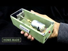 How To Make POWERFUL MINI TABLE SAW ! Wood Tools, Diy Tools, Mini Power Tools, Hobby Tools, Diy Tech, Table Saw, Machine Tools, Woodworking Projects Diy, Diy Electronics