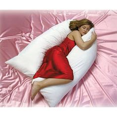 @Overstock - This super-sized double body pillow measures over 100 inches long. This cozy pillow is intended to wrap your entire body and doubles as an excellent pregnancy pillow.  http://www.overstock.com/Bedding-Bath/Total-Body-Wrap-Pillow/2859477/product.html?CID=214117 $57.99