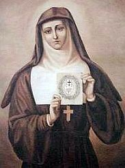 Picture of St. Margaret Mary Alacoque courtesy of Wikipedia