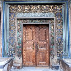 Doors - Echmiadzin Cathedral - Էջմիածնի եկեղեցի - Holy Echmiadzin - Echmiadzin, Armenia by jrozwado
