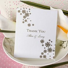 Thank You Card - Cute Floret-Set of 50 AUD $ 17.15.  Envelopes inc, medium size NZ post