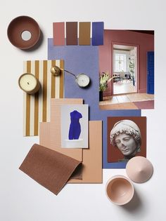 Outside the Lines Colour Pallete, Colour Schemes, Color Inspiration, Interior Inspiration, Moodboard Interior, House Arch Design, Material Board, Mood And Tone, Collage