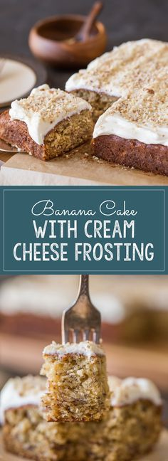 Pinner wrote: My very favorite banana bread recipe baked into a sweet, moist cake with the best and fluffiest cream cheese frosting! Homemade Cream Cheese Icing, Fluffy Cream Cheese Frosting, Cupcake Recipes, Cupcake Cakes, Dessert Recipes, Cupcakes, Fruit Cakes, Fun Desserts, Delicious Desserts