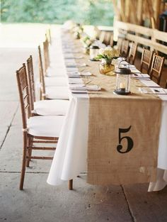 Table Runners For Weddings | ... burlap runners burlap table runners and farm wedding rustic # rustic