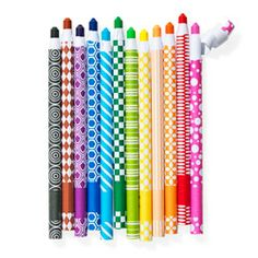 Self-sharpening crayon sticks help you (and your kids!) channel your inner Picasso.