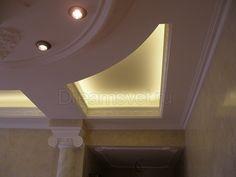 Светодиодное освещение в коттедже.