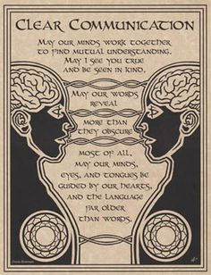 PRAYER FOR CLEAR COMMUNICATION POSTER A4 SIZE Wicca Pagan Witch BOOK OF SHADOWS picclick.com: