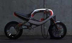 future, Electric Motorcycle, Frog Design, futuristic, green vehicle, ev, motorbike, ebike concept, electric motor, bike, Jin Seok Hwang, sci-fi